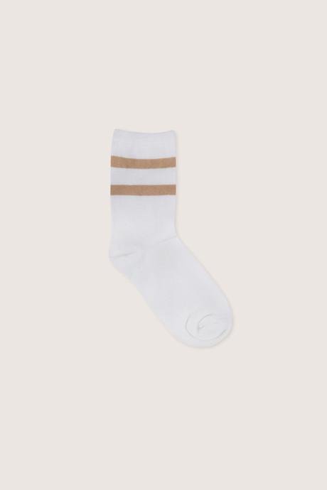 2 Pack Sock 1978 White 2