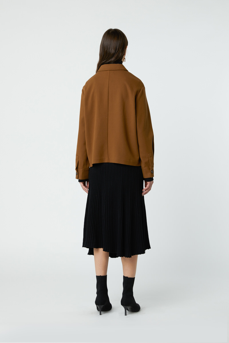 Blouse 2761 Brown 4
