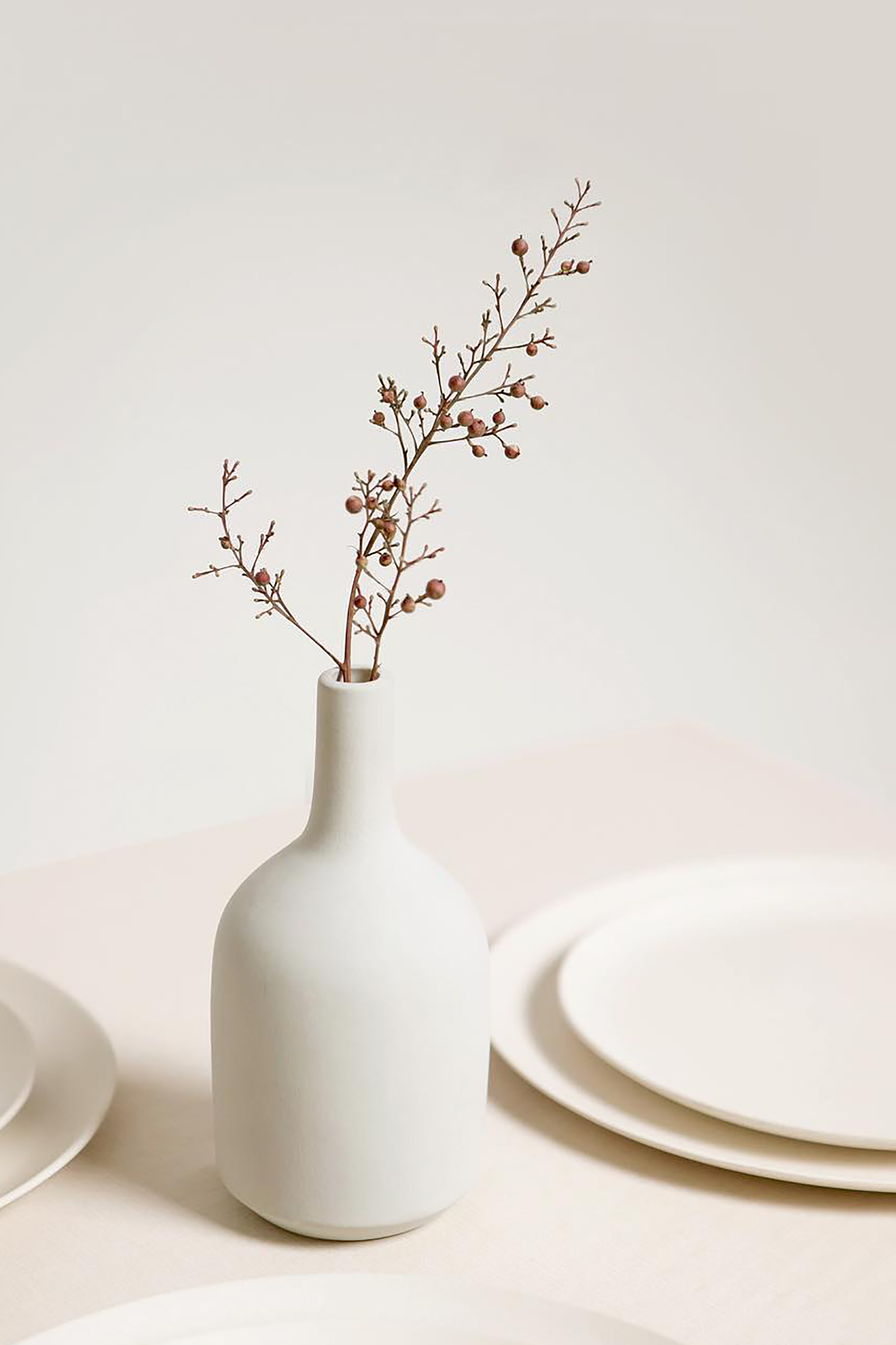 Bottle Vase 3130 White 1