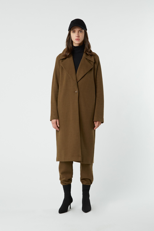 Coat 2491 Olive 2