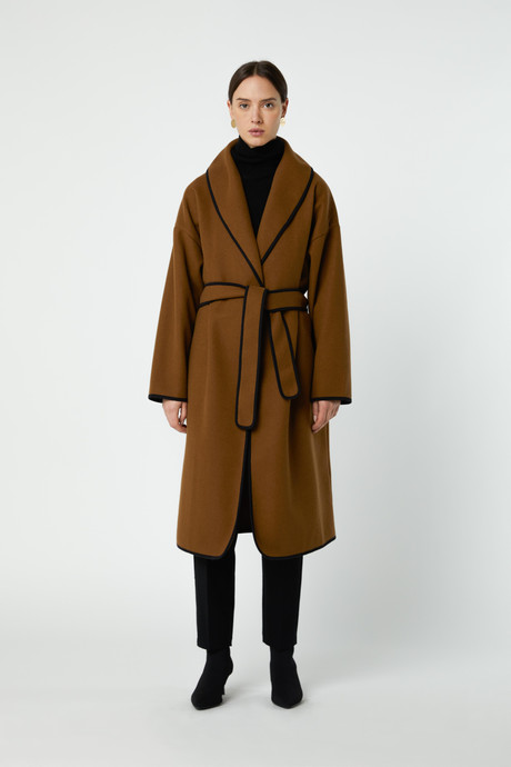 Coat 2769 Brown 2