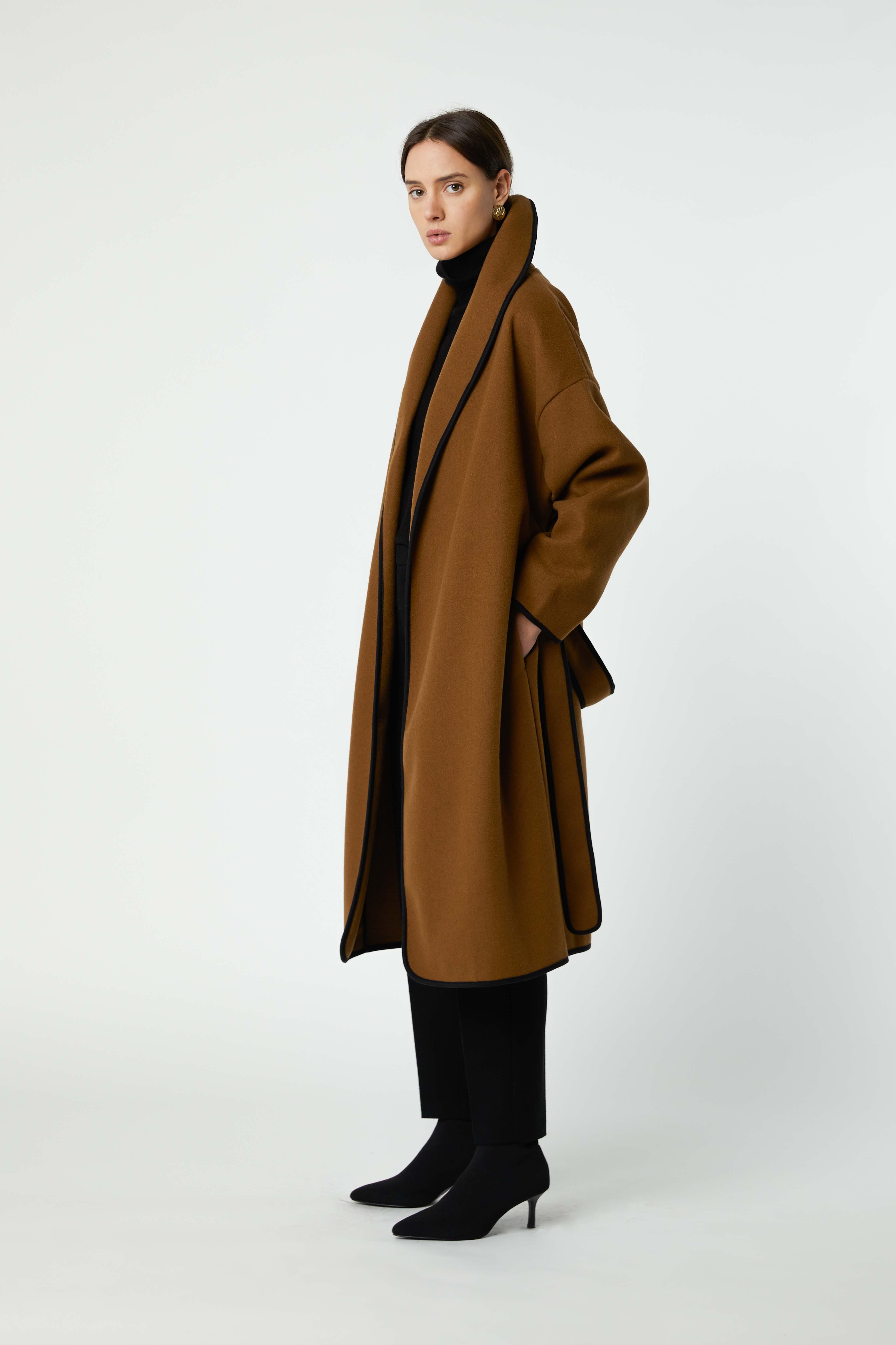 Coat 2769 Brown 3