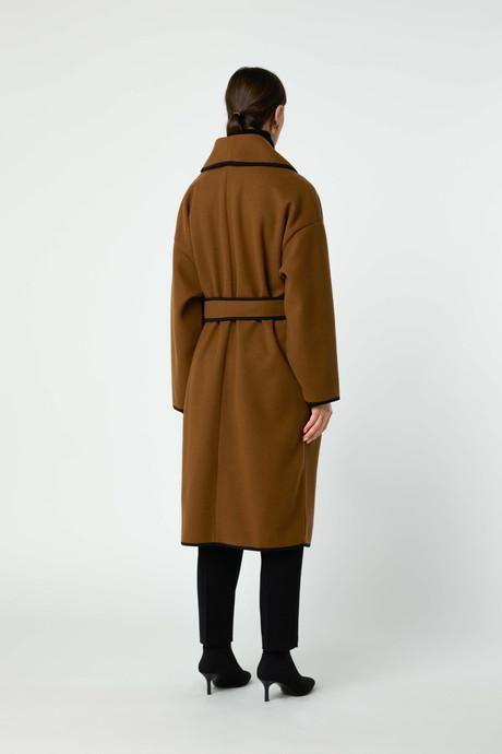 Coat 2769 Brown 4