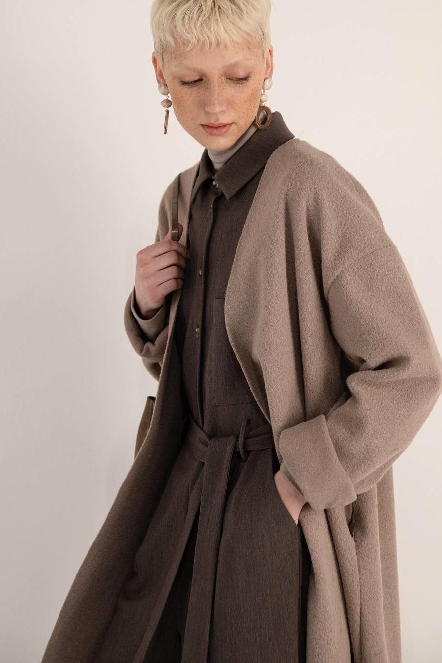 Coat J008 Beige 7