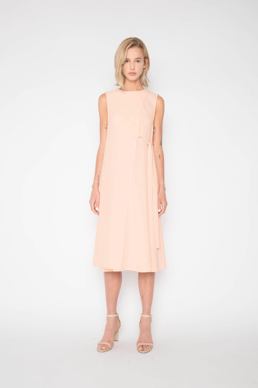 Dress 1301 Peach 1