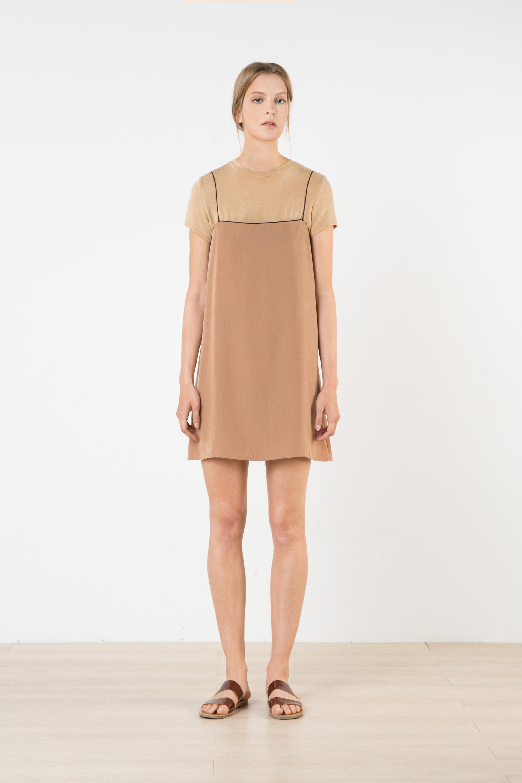 Dress 2569 Beige 1