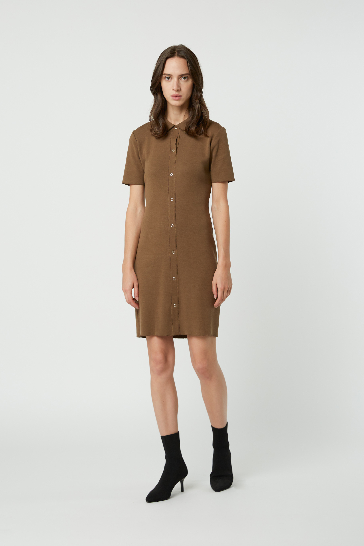 Dress 2835 Brown 1