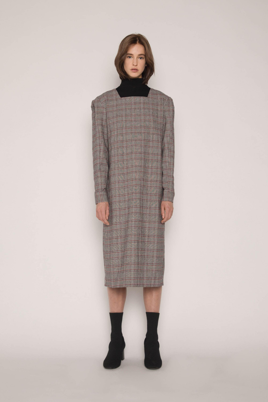 Dress H287 Gray 1