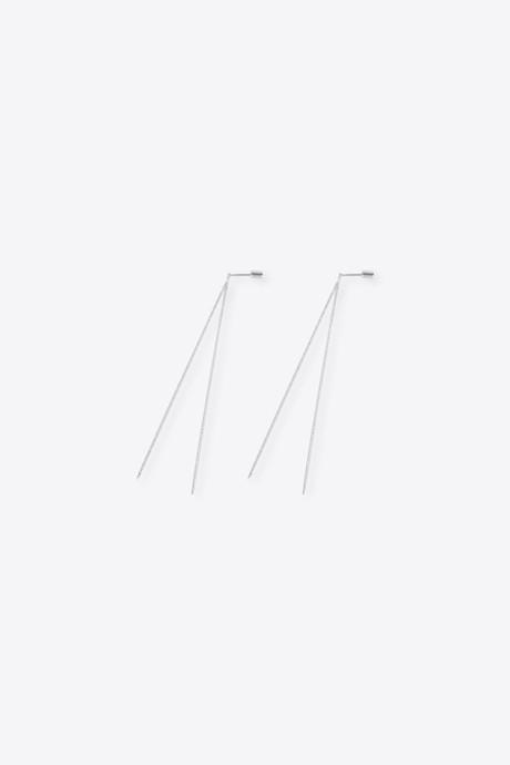 Earring 2540 Silver 3