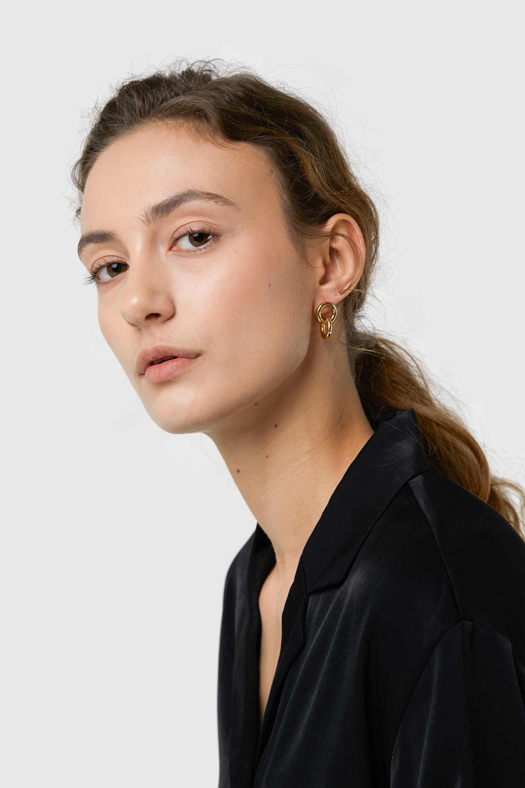 Earring 3093 Gold 1