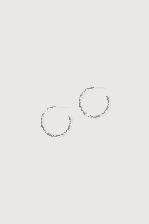 Earring 3400 Silver 3