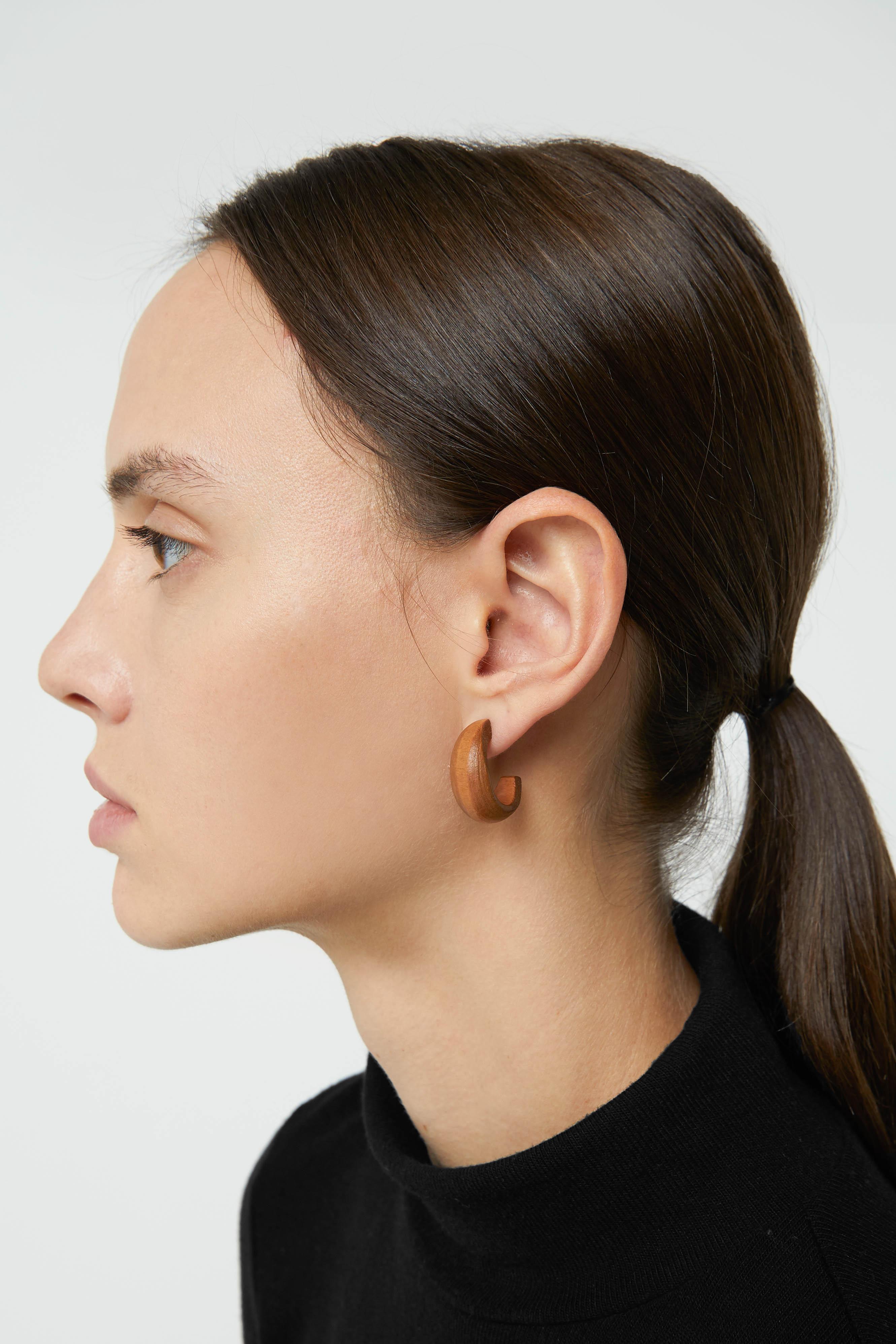 Earring H013 Brown 2
