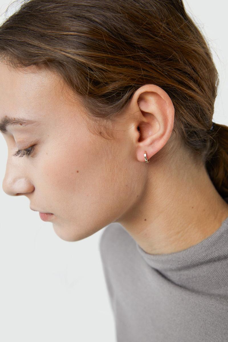 Earring H281 Gold 1