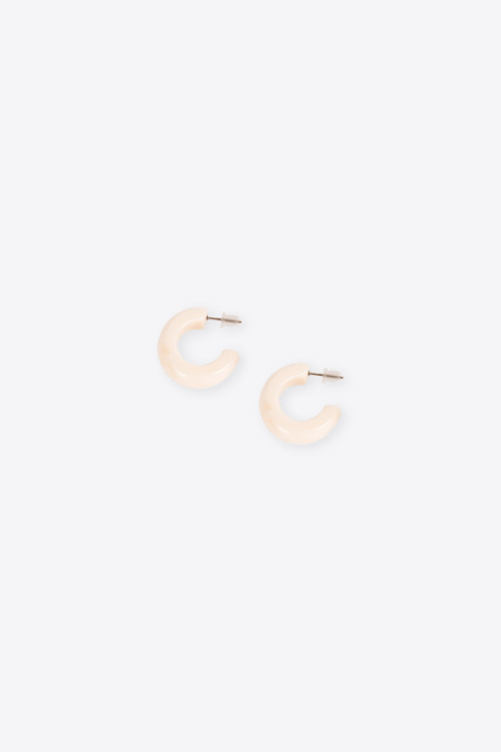 Earring H340 Cream 1