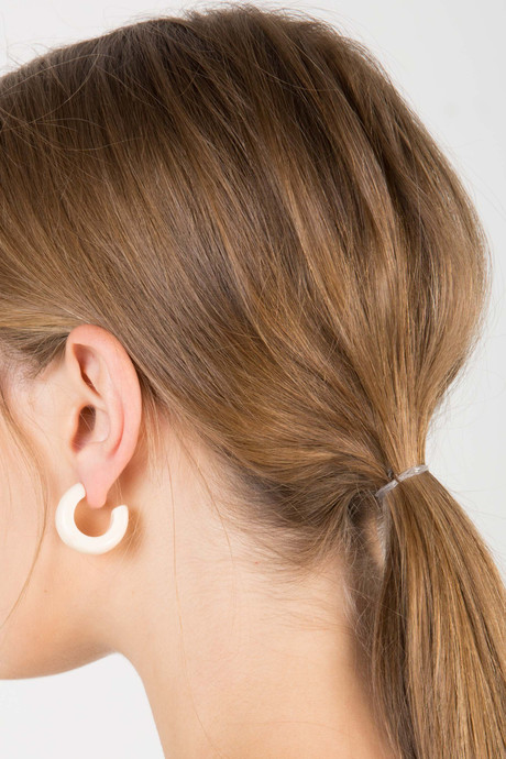Earring H340 Cream 2