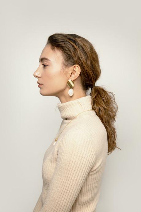 Earring J002 Gold 1