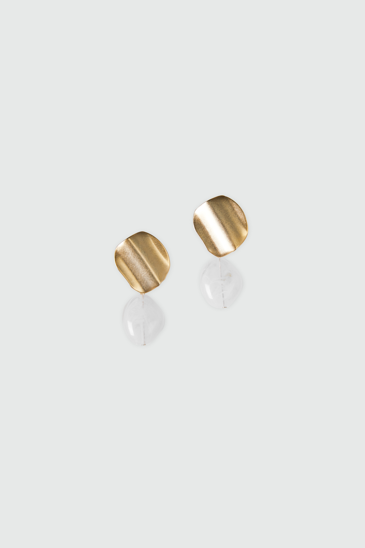 Earring J002 Gold 2