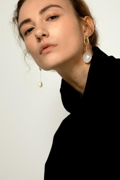 Earring J003 Gold 2
