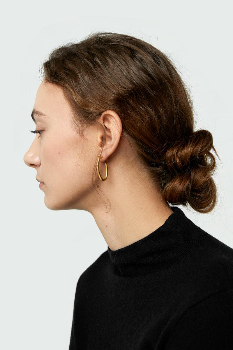 Earring J006 Gold 1