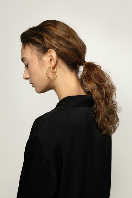 Earring J018 Gold 2
