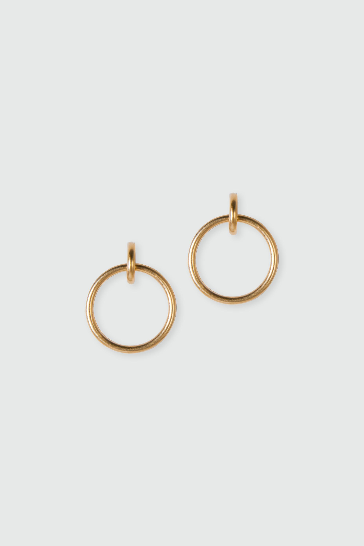 Earring J020 Gold 1