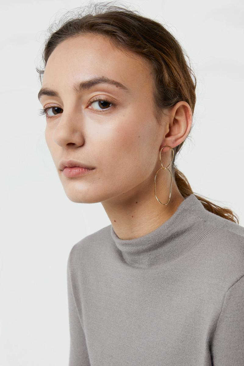 Earring J028 Gold 1