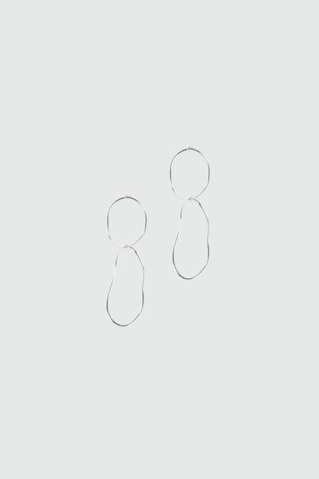 Earring J028 Silver 3