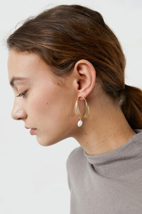 Earring J030 Gold 1