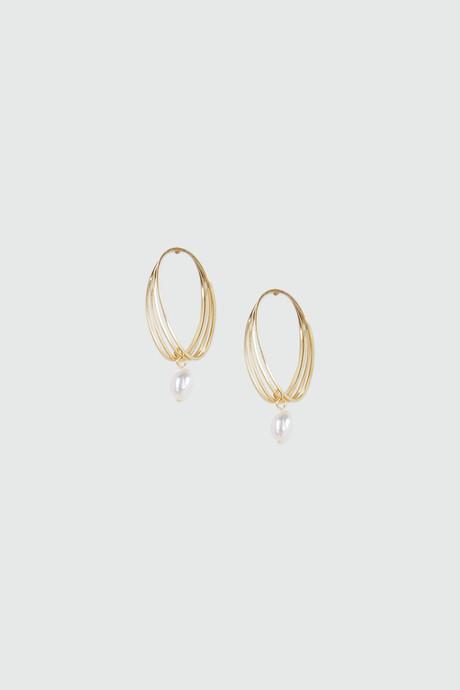 Earring J030 Gold 2