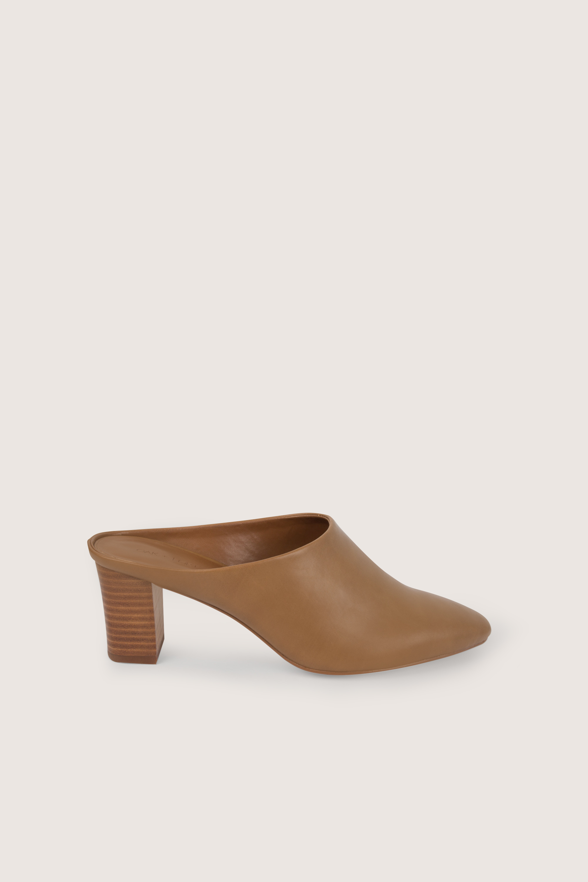 Heeled Mule 1987 Brown 5
