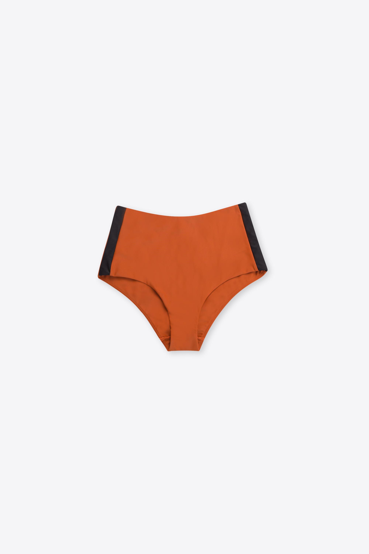 High Waist Bikini Bottom 2205 Orange 6