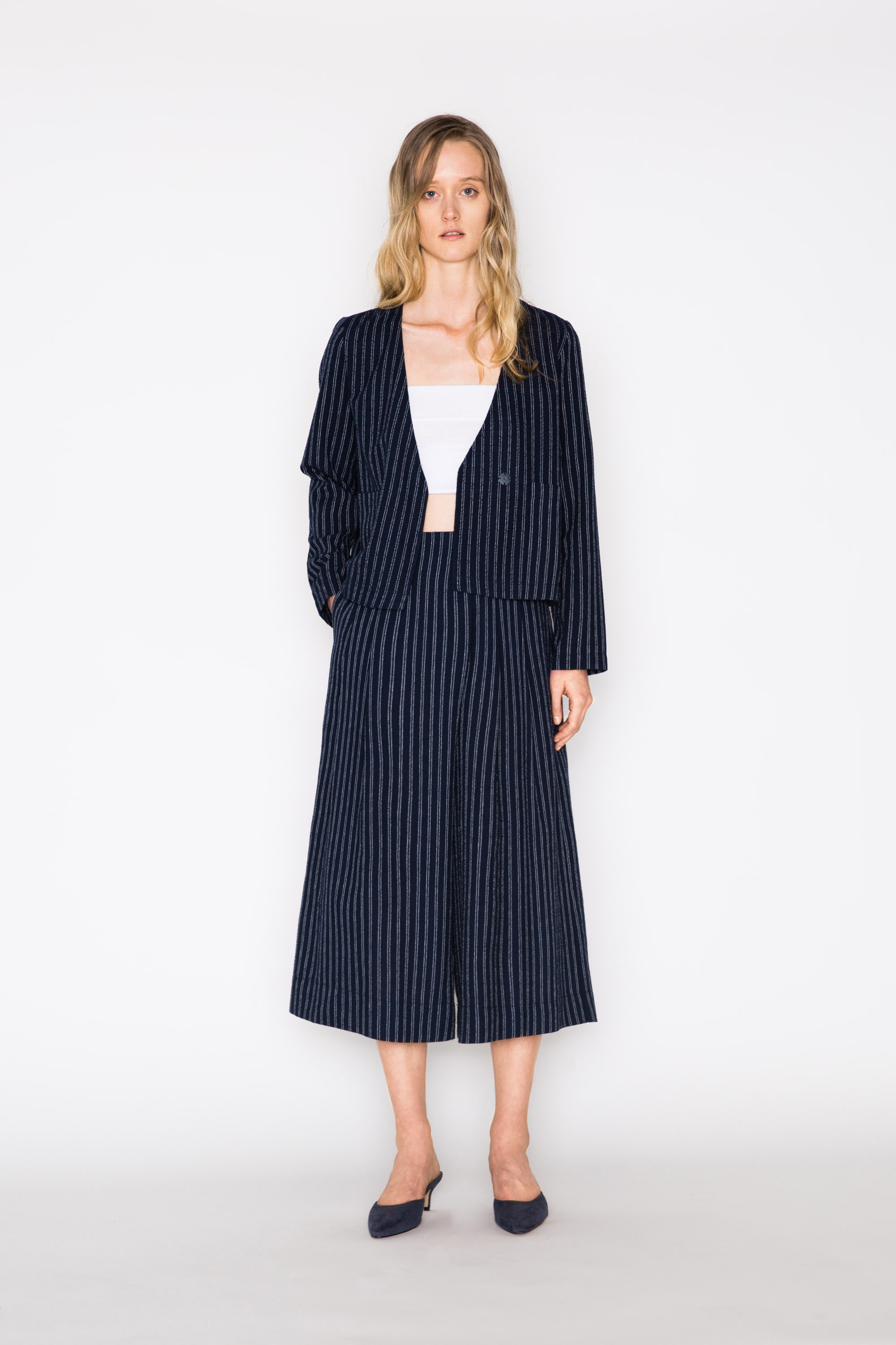 Jacket 2156 Navy Stripe 1