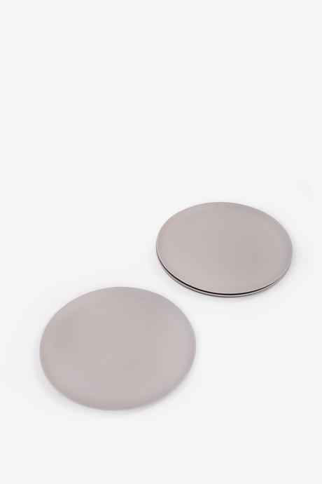 Large Bamboo Plate Set 2861 Gray 3