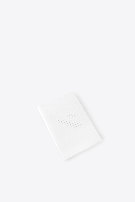 Line Print Notebook 1857 White 1