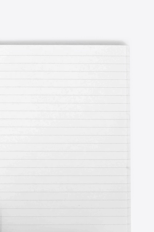 Line Print Notebook 1857 White 2