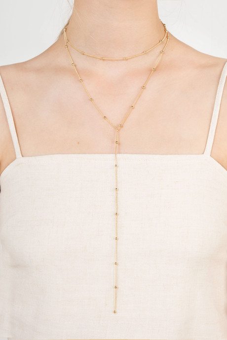 Necklace H049 Gold 3