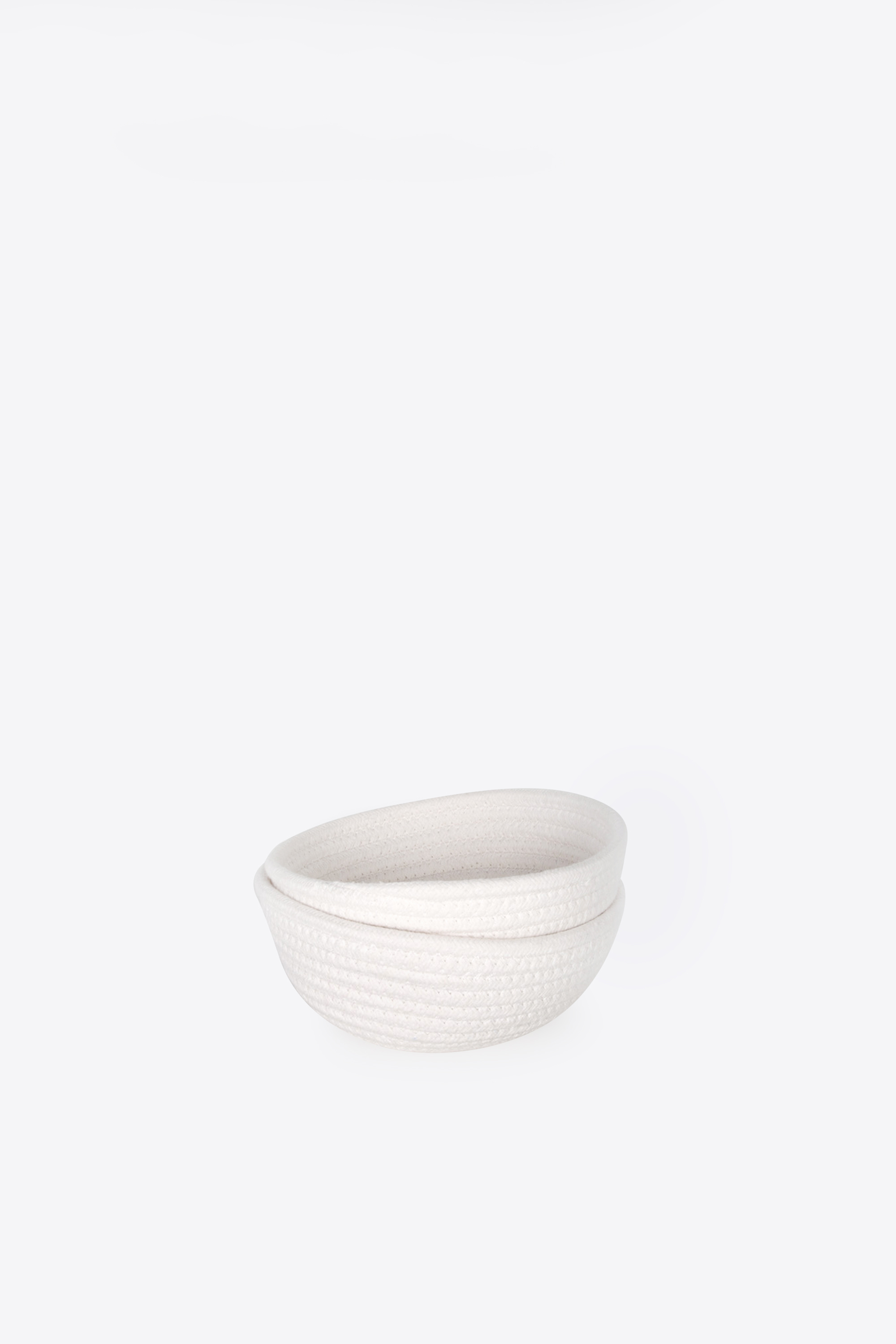 Rope Bowl 1017 White 1