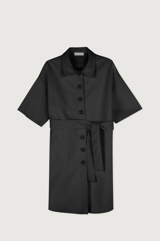 Shirt Dress J009 Black 7
