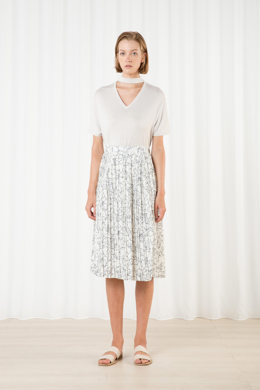 Skirt H265 Cream 1