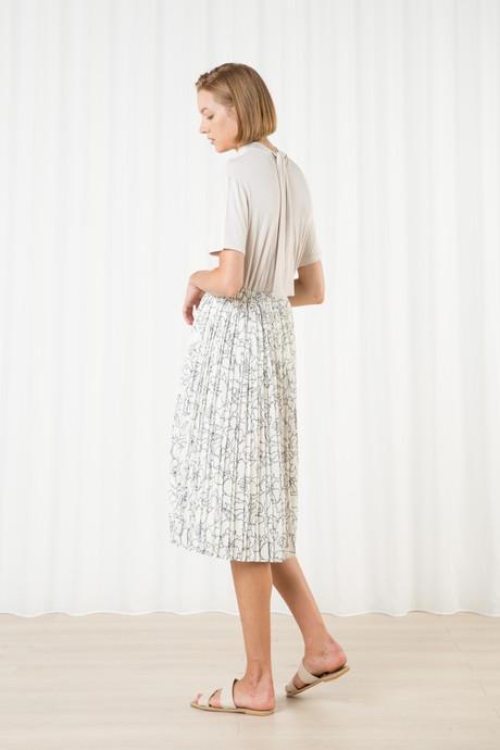 Skirt H265 Cream 2