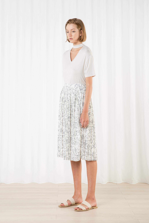 Skirt H265 Cream 3
