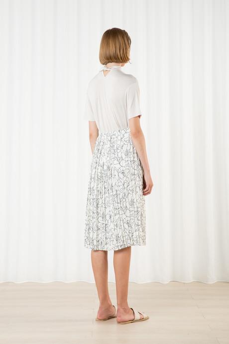 Skirt H265 Cream 4