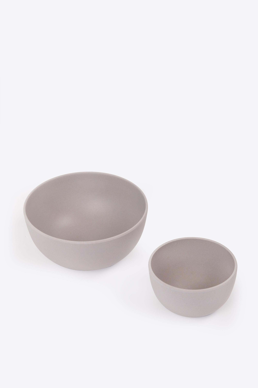 Small Bamboo Bowl Set 2854 Gray 4