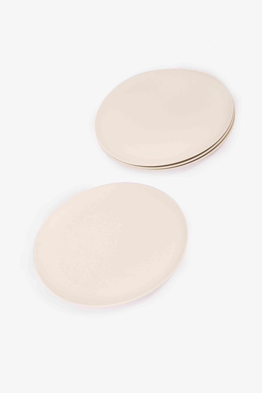 Small Bamboo Plate Set 2858 Cream 3