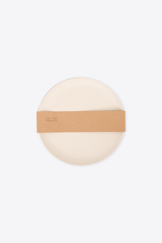Small Bamboo Plate Set 2858 Cream 4