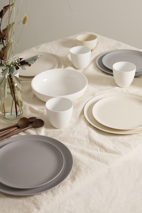 Small Bamboo Plate Set 2859
