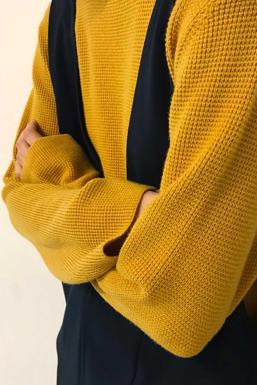 Sweater 2427 Mustard 1