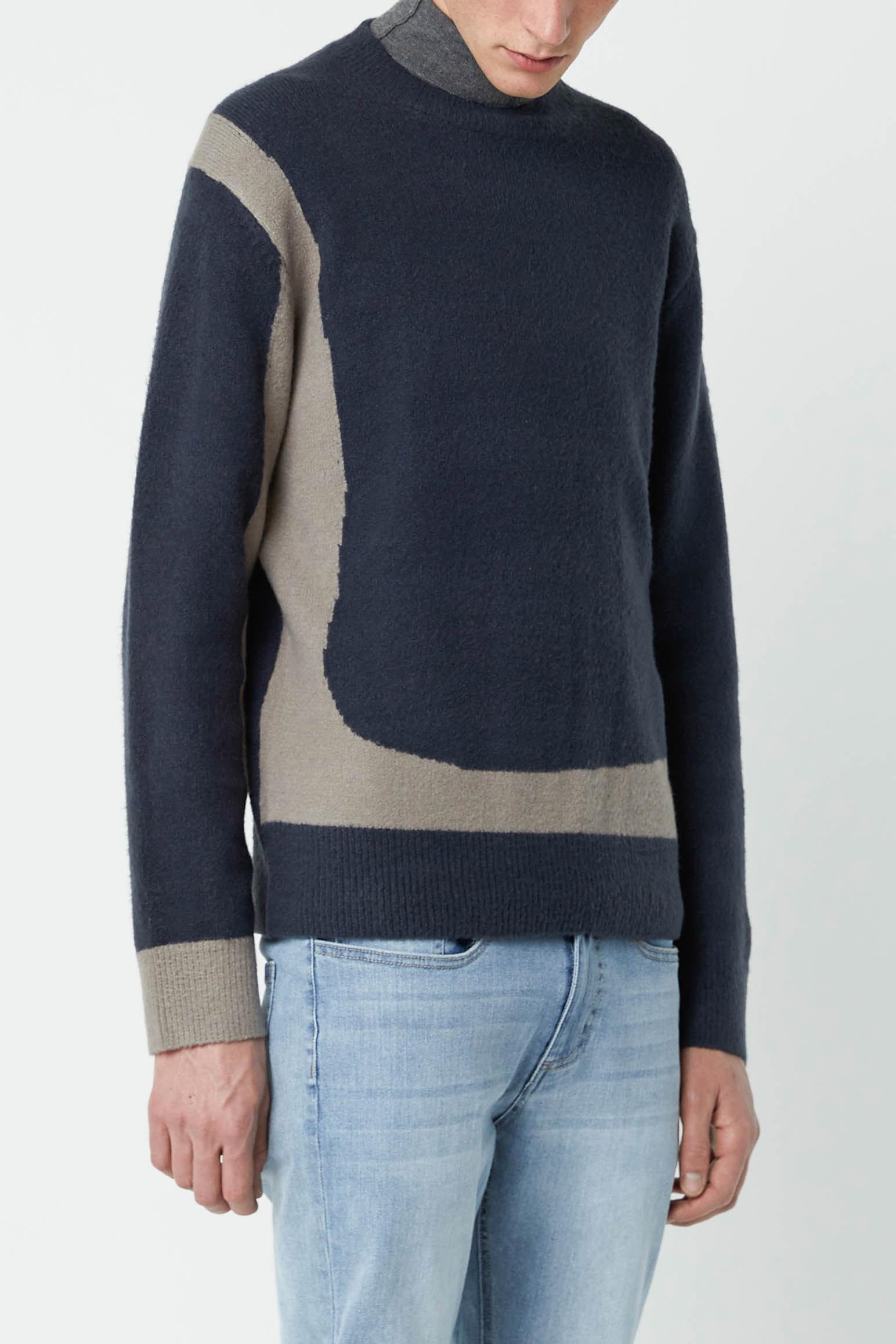 Sweater 2675 Navy 1