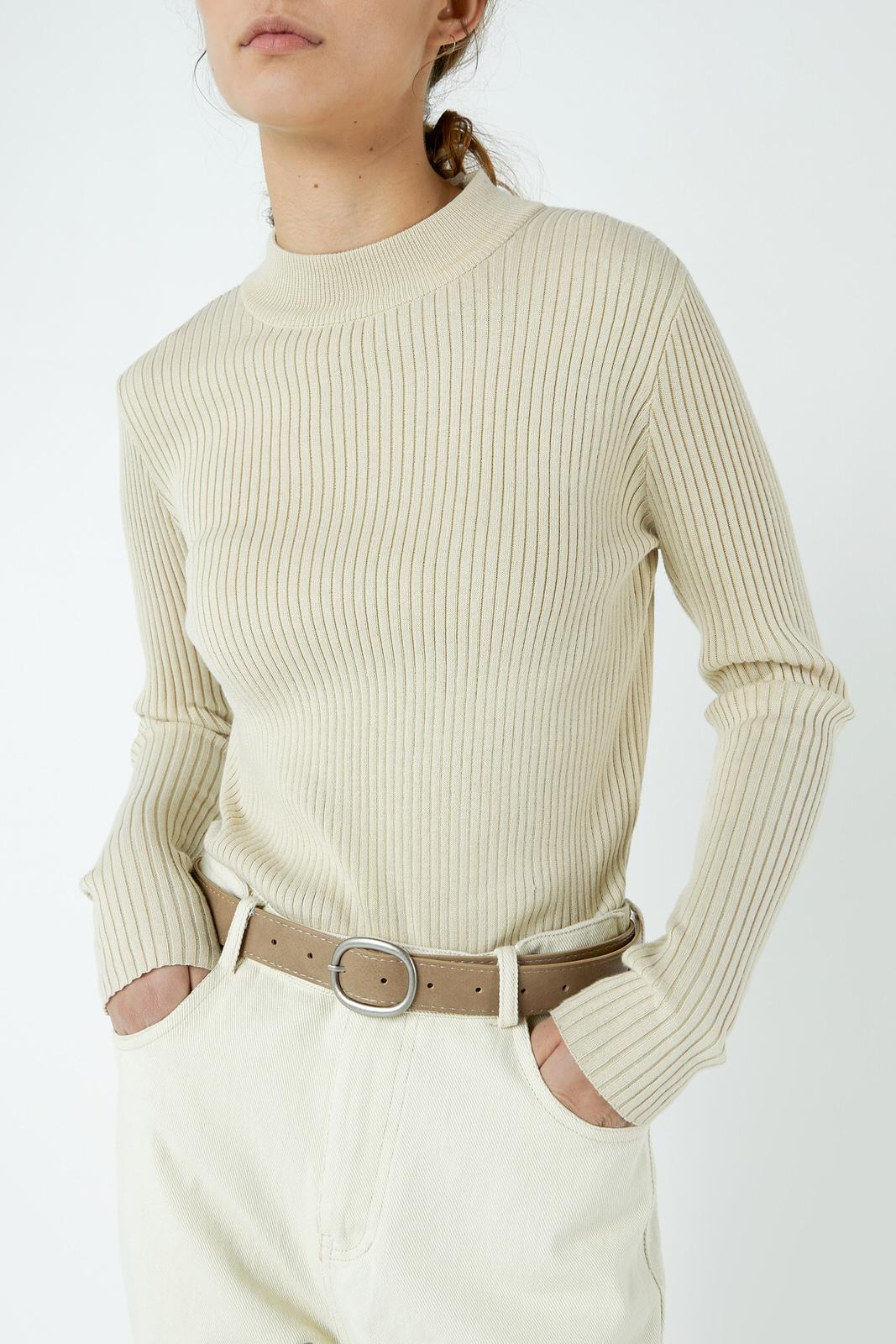 Sweater 2768 Cream 1