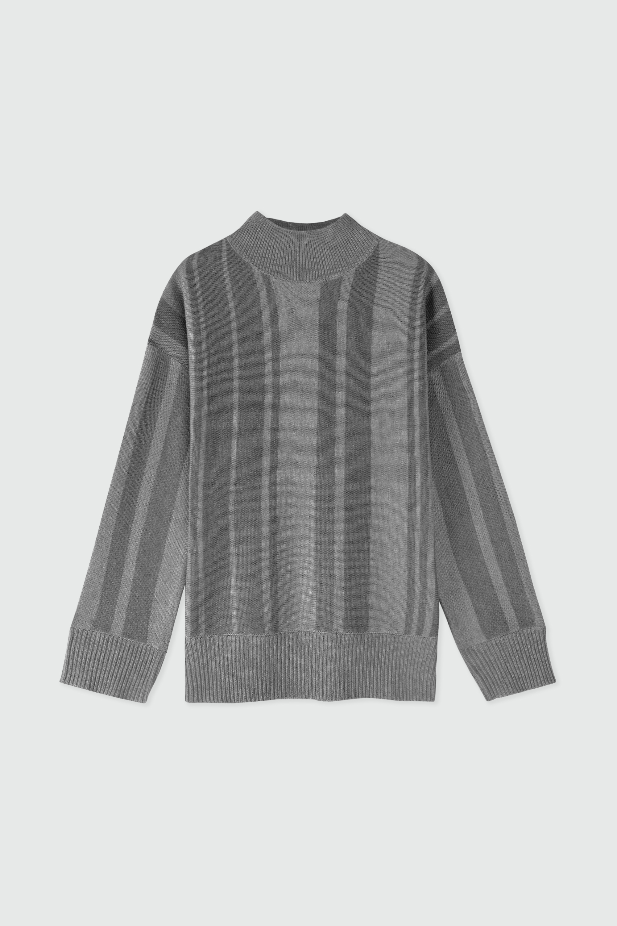 Sweater 2924 Gray Stripe 7